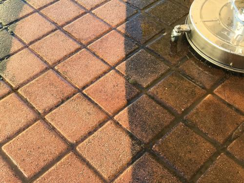 Pressure Washing Paving