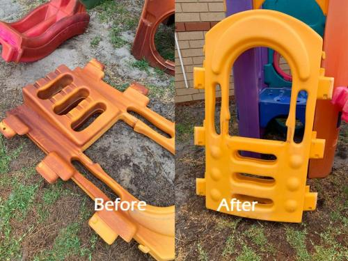 Bore Stain Removal - Playset